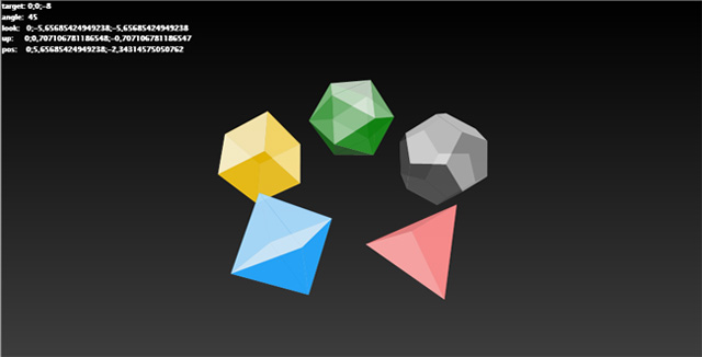 floating polyhedra